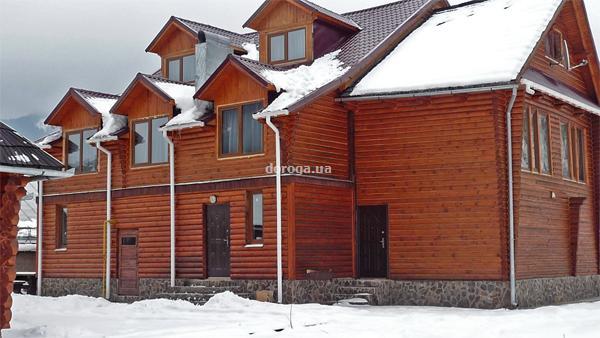 Внешний вид (гостиница Трембита, Межгорье) .