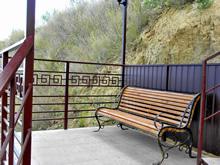 Скамья для отдыха (спуск)